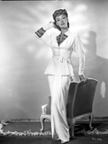 Eve Arden standing in Long Sleeve Blouse Photo by  Movie Star News