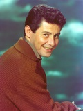 Eddie Fisher wearing Brown Sweater Portrait Photo by  Movie Star News
