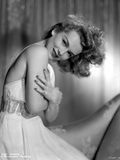 Eva Gabor on a Tube Dress sitting Photo by  Movie Star News