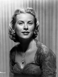Grace Kelly Curly Hairdo Portrait in Black and White Photo by  Movie Star News