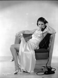 Evelyn Brent Seated in Classic Photo by  Movie Star News