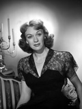 Eve Arden Portrait in Lace V-Neck Dress Photo by  Movie Star News