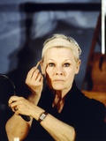 Judi Dench Close Up Portrait Photo by  Movie Star News