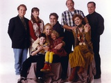 Grace Under Fire Classic Group Portrait Photo by  Movie Star News