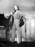 Ella Raines standing in Cowgirl Attire Photo by  Movie Star News