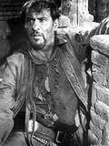 Eli Wallach Leaning on Wall With Cowboy Outfit Photo by  Movie Star News