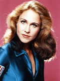 Erin Gray Portrait in Blue Outfit Photo by  Movie Star News