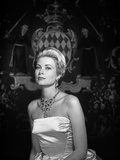 Grace Kelly wearing White Gown Portrait Photo by  Movie Star News
