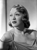 Eve Arden on Dress Leaning and Looking Up Portrait Photo by  Movie Star News