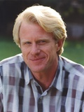 Ed Begley posed in Checkered Polo Photo by  Movie Star News