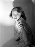 Fay Wray Portrait Shot in Darkness Photo by  Movie Star News