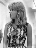 Hayley Mills wearing a Printed Dress Photo by  Movie Star News