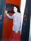Gail Russell in Fur Long Sleeves Portrait Photo by  Movie Star News