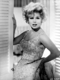 Eva Gabor on a Beaded Dress and Leaning Portrait Photo by  Movie Star News