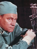 E.G. Marshall in Lab gown Portrait Photo by  Movie Star News