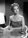 Eva Gabor on a Embroidered Top sitting on the Chair Photo by  Movie Star News