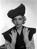 Helen Twelvetrees wearing in Black Hat Photo by  Movie Star News