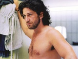 Gerard Butler Topless Portrait Photo by  Movie Star News
