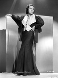 Ethel Merman standing in Coat Photo by  Movie Star News