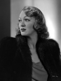 Eve Arden on Furry Coat Look Away Pose Portrait Photo by  Movie Star News