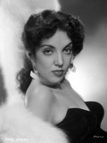 Katy Jurado wearing Black Gown Portrait Photo by  Movie Star News