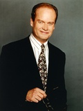 Kelsey Grammer Posed in a Black Suit and Tie Photo by  Movie Star News