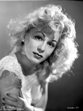Eva Gabor on a Lace Top Portrait Photo by  Movie Star News