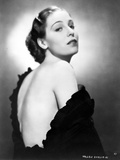 Hobson Valerie on Backless Portrait Photo by  Movie Star News