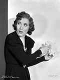 Gracie Allen Red lipstick , Curly Hairdo Portrait Photo by  Movie Star News