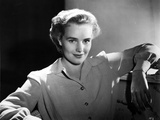 Frances Farmer with Arms Rested on a Chair Photo by  Movie Star News