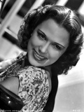 Eleanor Powell on a Printed Top and smiling Photo af Movie Star News