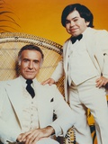 Fantasy Island Mr Roarke Seated on Chair Photographie par  Movie Star News