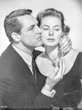 Indiscreet Couple in Black and White Portrait Photo by  Movie Star News