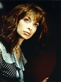 Illeana Douglas wearing a Polka Dot Blouse Photo by  Movie Star News