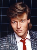 Jack Wagner Portrait in Red Tie Photo by  Movie Star News