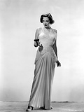Jane Greer on a Dress Holding a Gun Portrait Photo by  Movie Star News