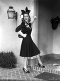 Joan Blondell on a Cocktail Dress Photo by  Movie Star News