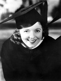 Janet Gaynor on a Graduate Attire Portrait Photo by  Movie Star News