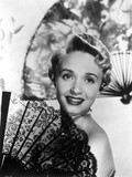 Jane Powell on a Strip Top and smiling Photo by  Movie Star News