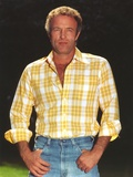 James Caan in Checkered Polo Portrait Photo by  Movie Star News