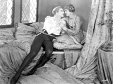 John Barrymore Kissing Scene from Film Photo by  Movie Star News