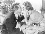 Indiscreet Lady in Polka Dotted Dress with a Man Photo by  Movie Star News