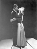 Indiscreet Lady hugging the Man in Suit Photo by  Movie Star News