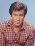 James Farentino in Checkered Long Sleeves Portrait Photo by  Movie Star News
