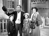 John Barrymore Taking a Family Picture in a Classic Movie Scene Photo by  Movie Star News