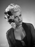 Judy Holliday with a Hair Dressed Portrait Photo by  Movie Star News