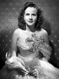 Kim Hunter on a Lace Dress sitting Portrait Photo by  Movie Star News