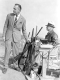 John Barrymore Grabbing a Rifle Photo by  Movie Star News