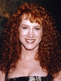 Kathy Griffin smiling In Black Sleeveless Dress Photo by  Movie Star News