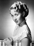 Jane Powell on an Off Shoulder Dress and Leaning Photo by  Movie Star News